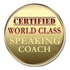 World Class Speaking Coach Logo